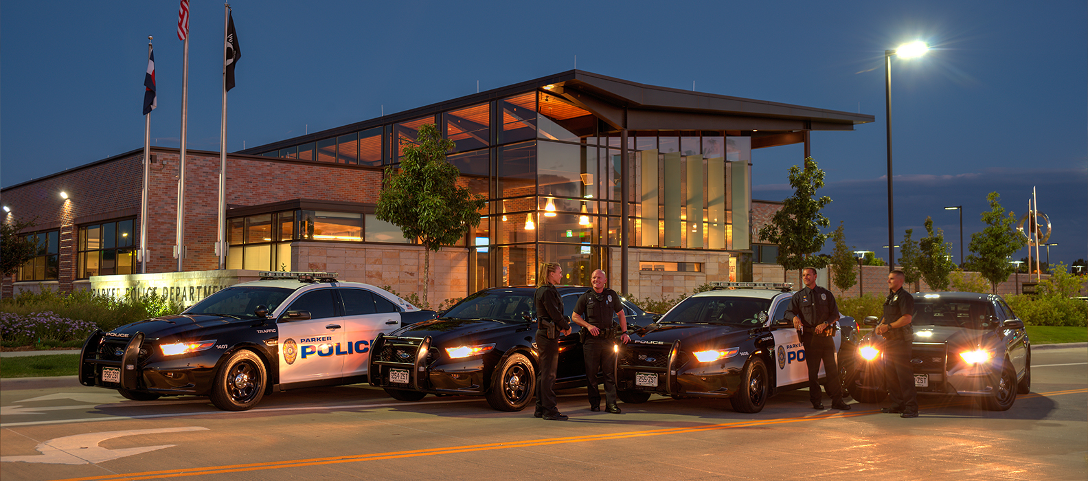 parker police official website official website